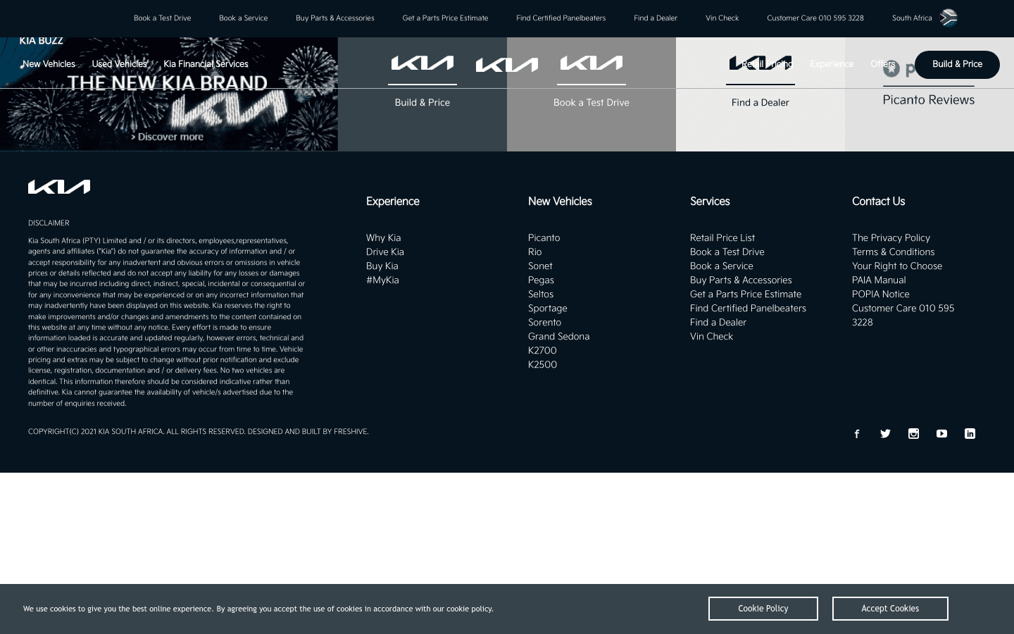 Kia Motors South Africa reviews and complaints