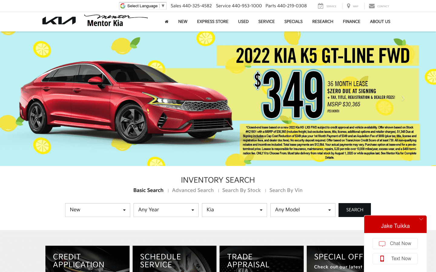 Kia Of Mentor reviews and complaints