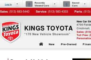 Kings Toyota reviews and complaints