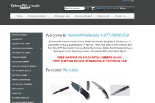 Knives4Wholesale reviews and complaints