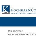 Kochhar and Co reviews and complaints