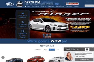 Koons Kia Of Woodbridge reviews and complaints