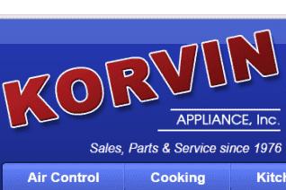 Korvin Appliance reviews and complaints
