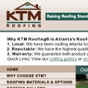 KTM Roofing reviews and complaints