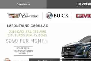 Lafontaine Cadillac Buick Gmc reviews and complaints
