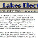 Lake Electronics Repair Service