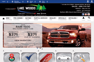 Lake Woods Chrysler Dodge Jeep Ram reviews and complaints