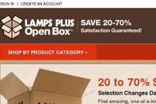 Lamps Plus Open Box reviews and complaints