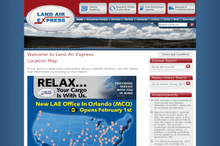 Land Air Express reviews and complaints