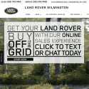 Land Rover Wilmington reviews and complaints
