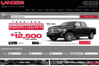 Landers Chrysler Dodge Jeep Ram Of Southaven reviews and complaints