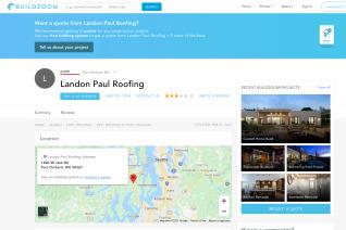 Landon Paul Roofing reviews and complaints
