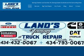 Lands Towing Service reviews and complaints