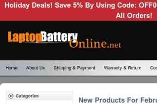 Laptopbatteryonline reviews and complaints