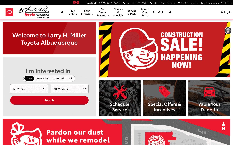 Larry H Miller Toyota Albuquerque reviews and complaints