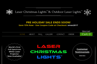 Laser Christmas Lights reviews and complaints