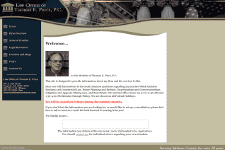 Law Office of Thomas E Price reviews and complaints
