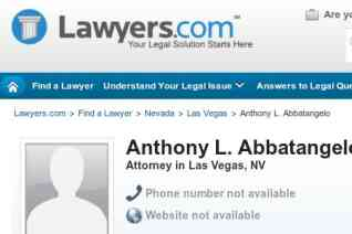 Law Office of Tony Abbatangelo reviews and complaints