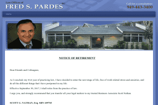 Law Offices of Fred S Pardes reviews and complaints