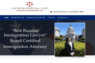 Law Offices Of Svetlana L Kaff reviews and complaints