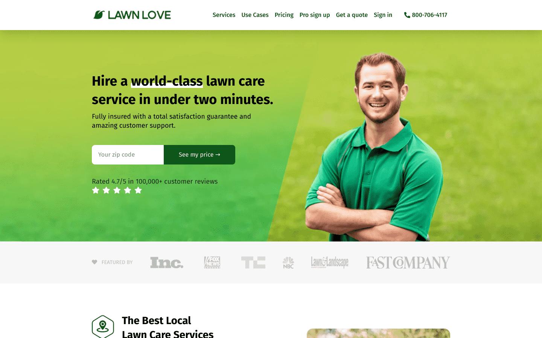 Lawn Love reviews and complaints