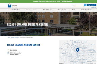 Legacy Emanuel Medical Center reviews and complaints