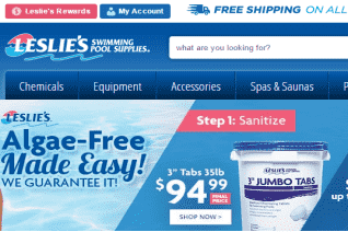 Leslies Swimming Pool Supplies reviews and complaints