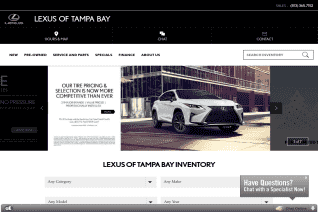 Lexus Of Tampa Bay reviews and complaints