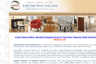 Linon Home Decor Products reviews and complaints