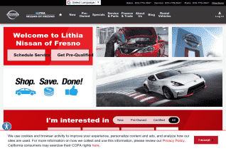 Lithia Nissan Of Fresno reviews and complaints