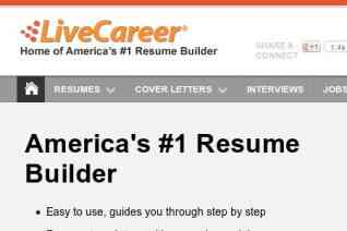 LiveCareer reviews and complaints