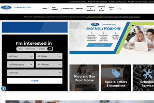 Livermore Ford reviews and complaints
