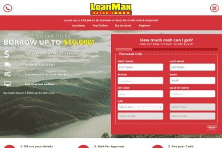 LoanMax Title Loans reviews and complaints