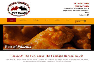 Long Wongs Hot Wings reviews and complaints