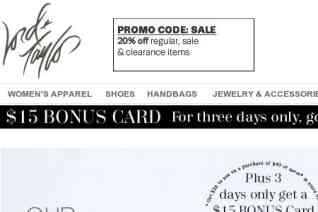 Lord And Taylor reviews and complaints