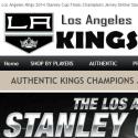 Los Angeles Kings Player Shop