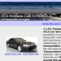 Los Angeles Limo Transportation
