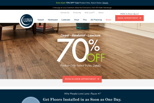 Luna Flooring reviews and complaints