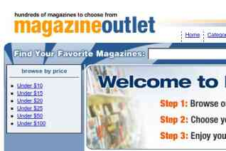 Magazine Outlet reviews and complaints