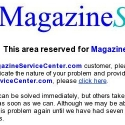 Magazine Service Center reviews and complaints