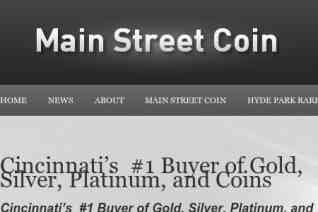 Main Street Coin reviews and complaints