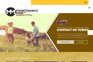 Maintenance Man Heating and Cooling reviews and complaints