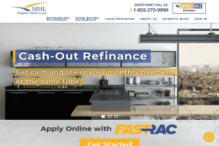 Majestic Home Loan reviews and complaints