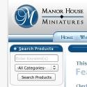 Manor house miniatures