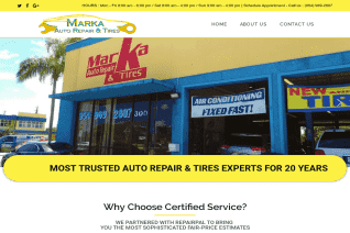 Marka Auto Repair And Tires reviews and complaints