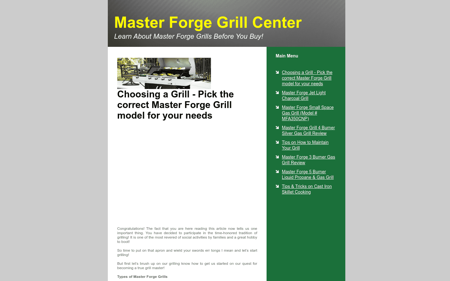 Master Forge reviews and complaints
