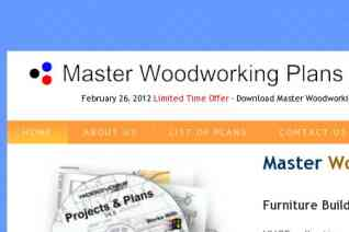 Master Woodworking Plans reviews and complaints