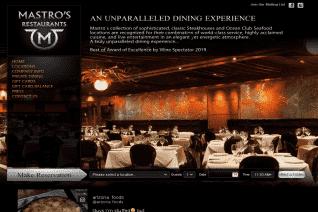 Mastros Restaurants reviews and complaints