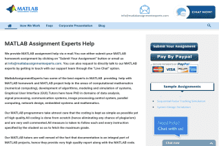 Matlab Assignment Experts reviews and complaints