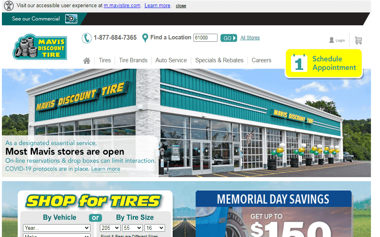 Mavis Discount Tire reviews and complaints